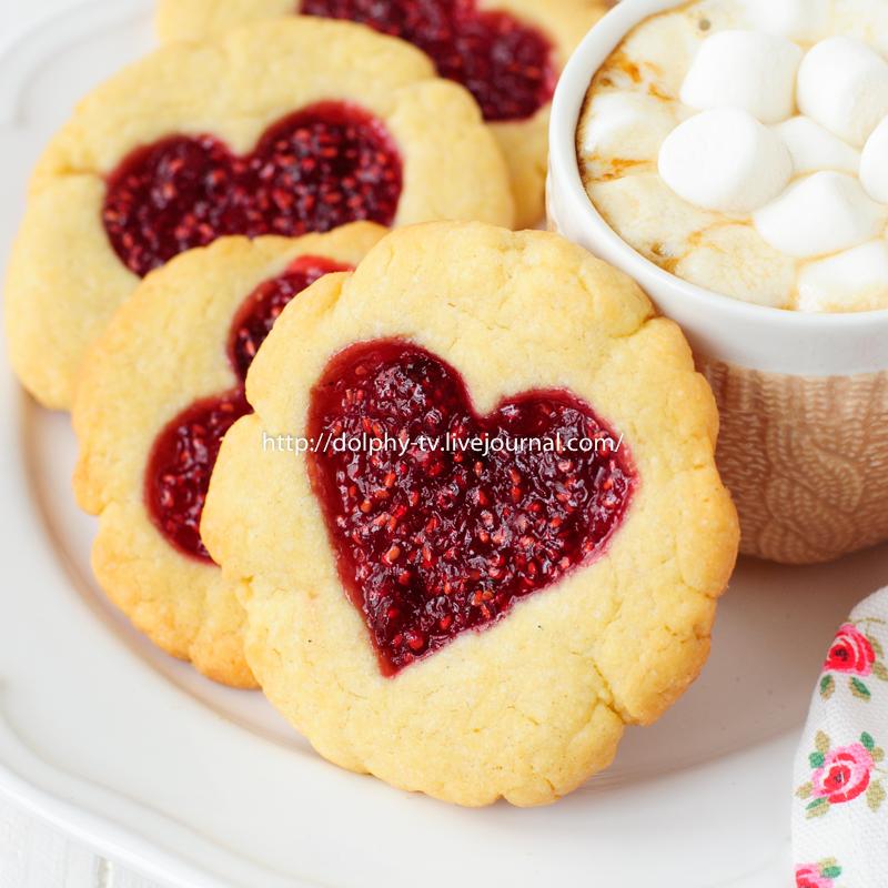 Печенье с вареньем рецепты с фото простые