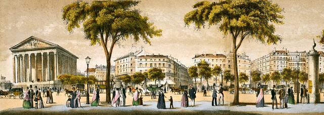 Paul Lancel - Boulevard de la Madeleine (c.1834)