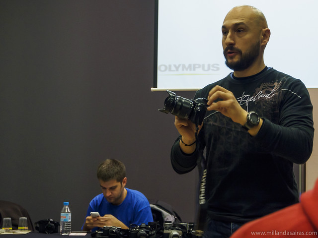 Presentación fotowalk Olympus