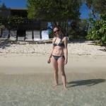 Emily on Hawk's Nest Beach