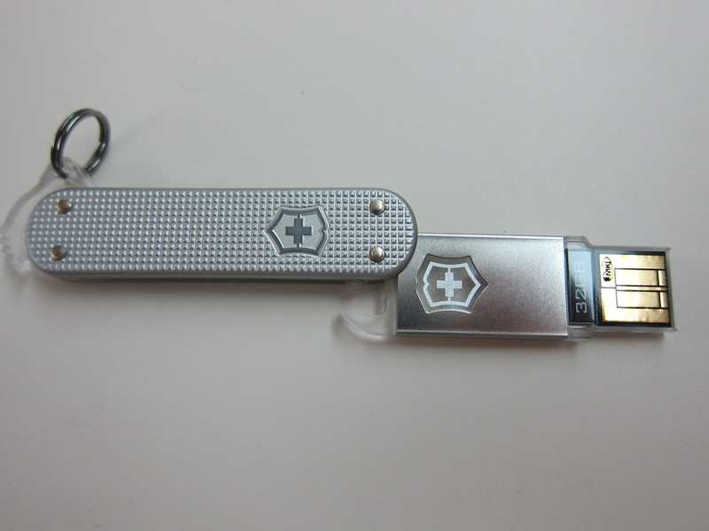 Victorinox Swiss Army Flash Drive - Flash Drive Shown