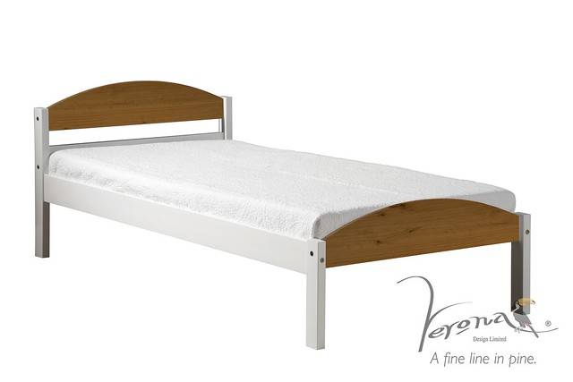 Bookcase Bed Full White