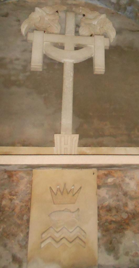 altare, campanile bombardato. Virgilio Milani, Lusia