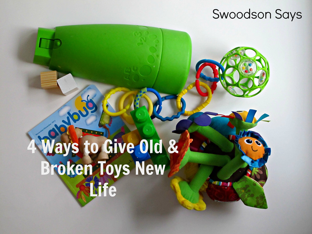 4 Ways to Give Old & Broken Toys New Life