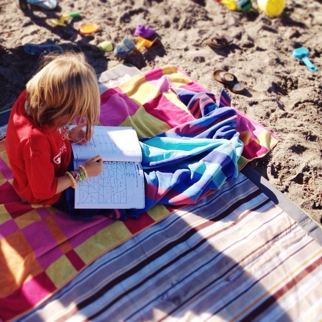 Beachschooling for the win.