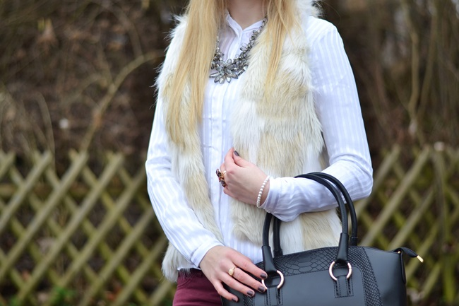 Outfit Fake Fur Weste (5)