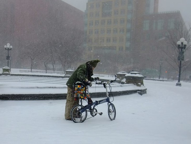 NYC Winter Cycle Chic