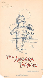 Angora Twinnies illustrated by M.E. Price