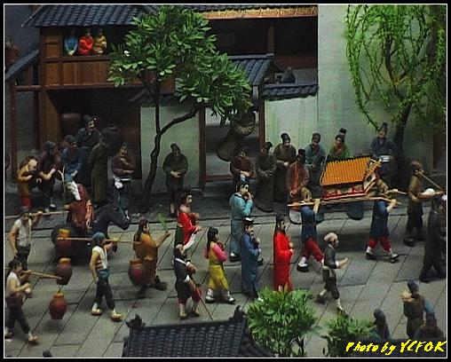 杭州 吳山天風景區 - 053 (城隍閣 內的南宋時期的杭州風情軟木立體畫))