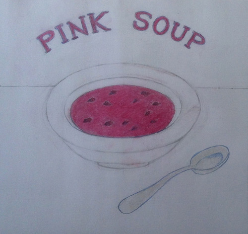 Pink Soup (Illustration as of February 10, 2014) by randubnick