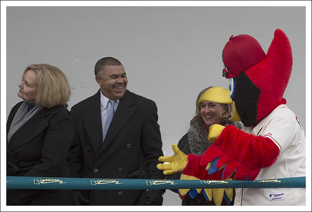 Fredbird On The Bridge 2