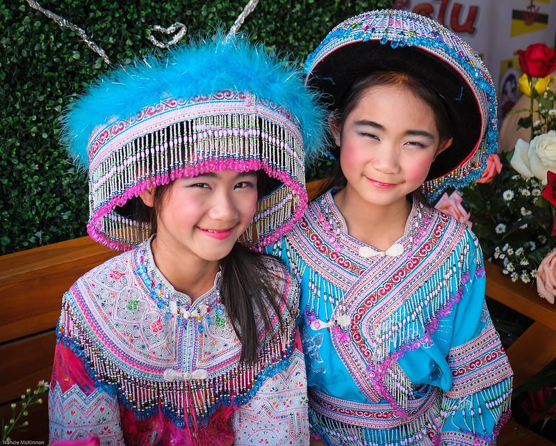 Beautiful Hill Tribe Girls