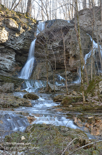 The Falls in the Pocket at Pigeon Mountain
