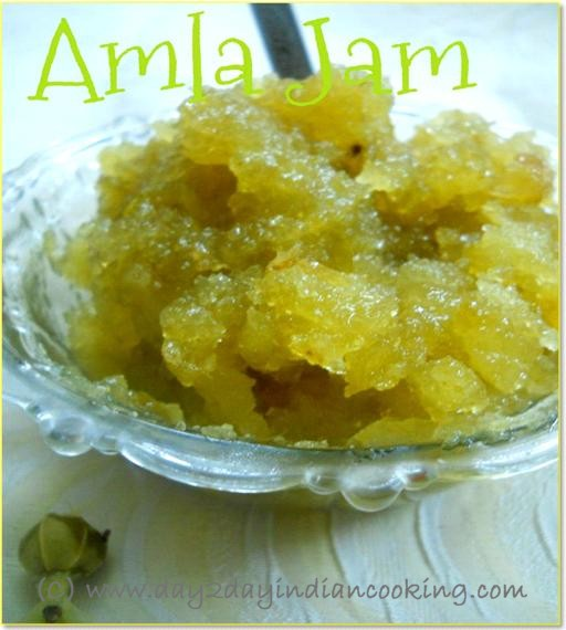 recipe of making amla jam