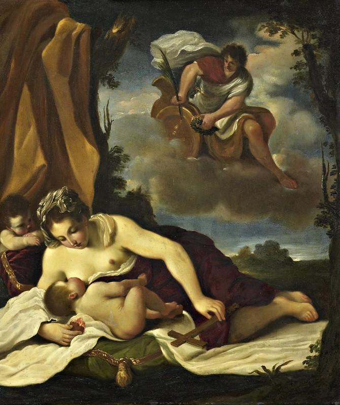 Guercino - Caritas (c.1620)