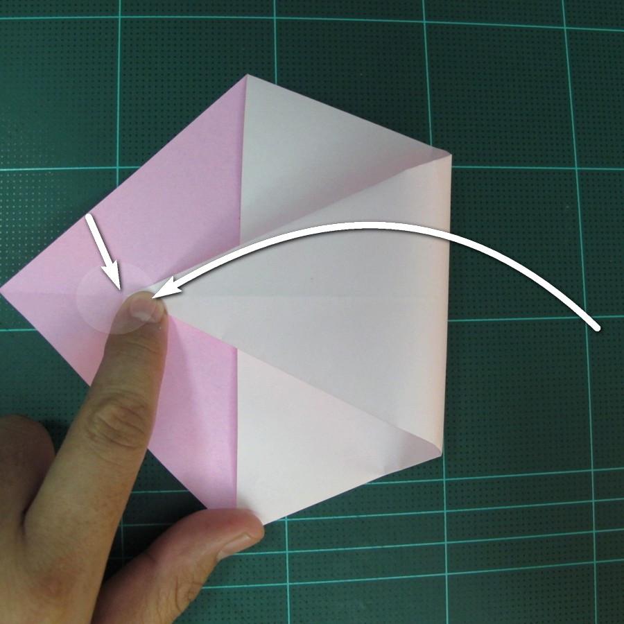 วิธีพับกระดาษเป็นรูปเครื่องบินแบบบินไกล (SST Origami Airplane) 005