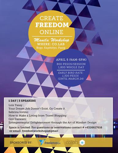 Create Freedom Online Manila1