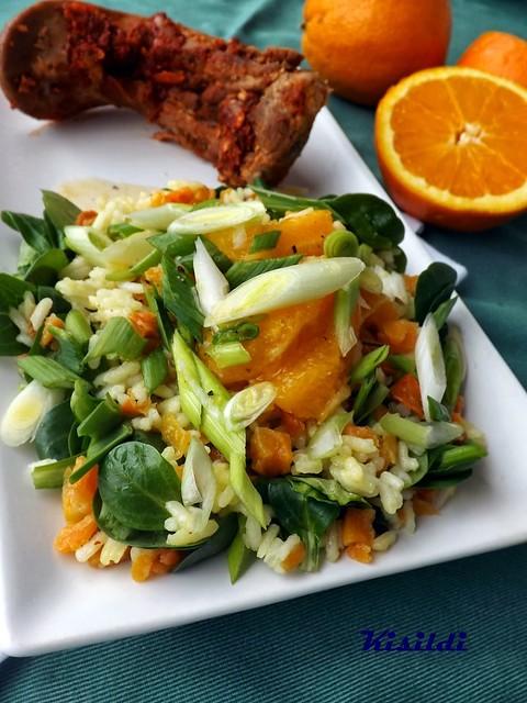 kisildi _ sárgarépás narancsos rizssaláta