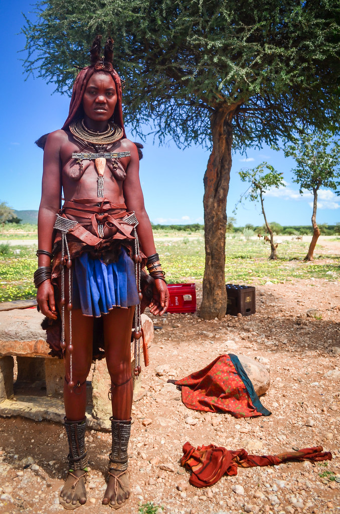 Himba woman in Kaokoland