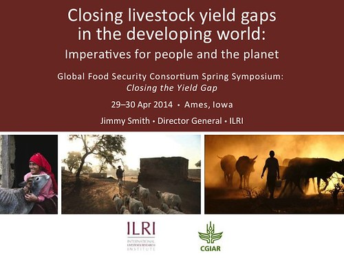Closing Livestock Yield Gaps: Title slide