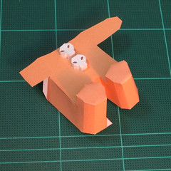 วิธีทำโมเดลกระดาษตุ้กตาคุกกี้รัน คุกกี้ผู้กล้าหาญ แบบที่ 2 (LINE Cookie Run Brave Cookie Papercraft Model Version 2) 012