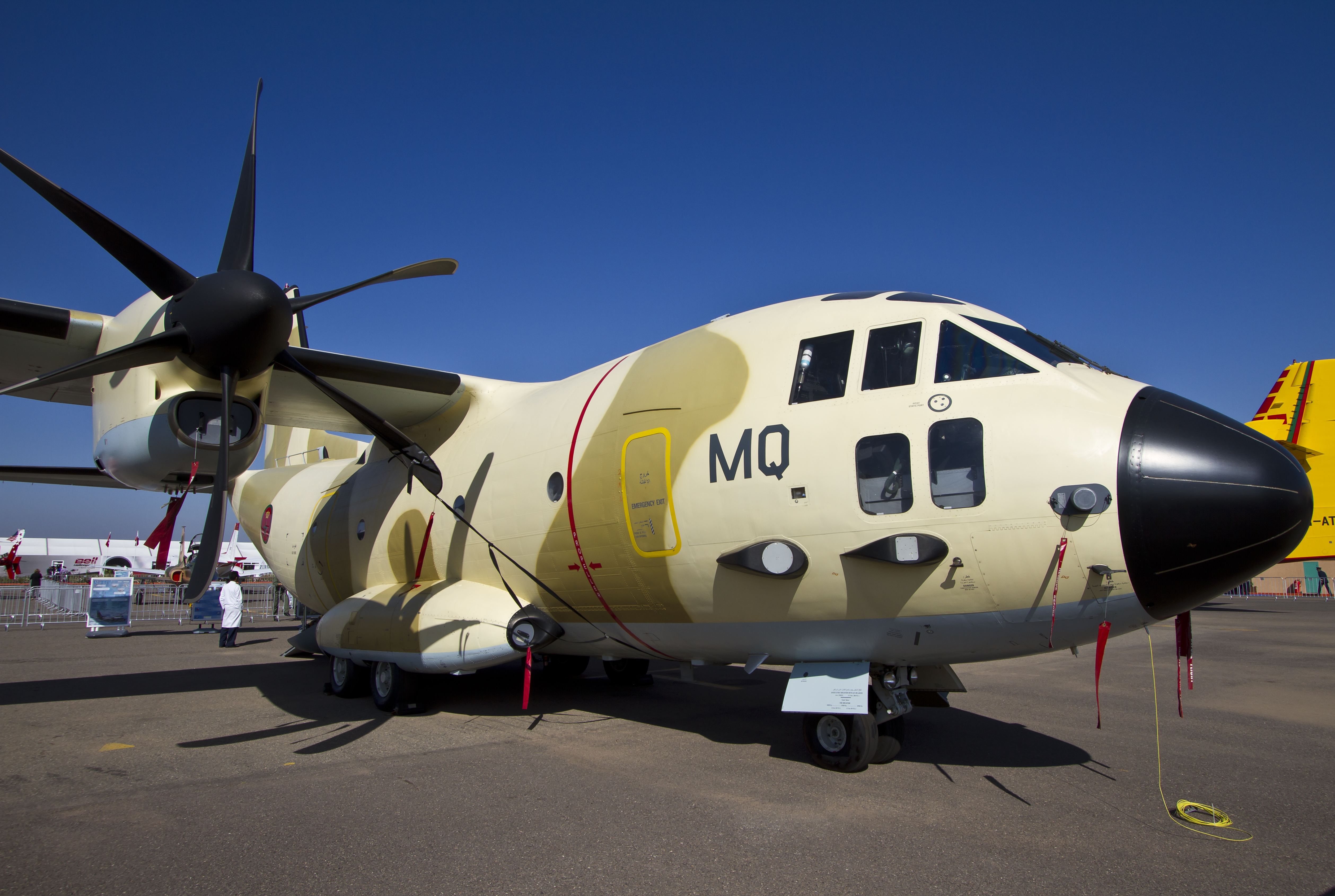 طائرات النقل العاملة بالقوات المسلحة المغربية 13946006449_6b68fc2706_o