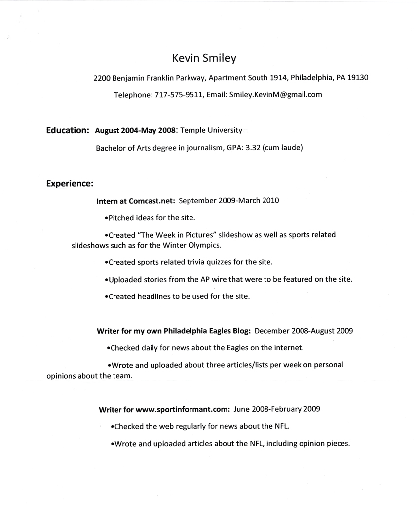 Kevin-Smiley's-resume
