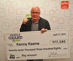 Kenny Keene - $77,380 Weekly Grand
