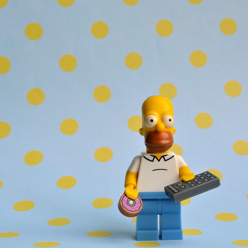The Simpsons Minifigures: Homer