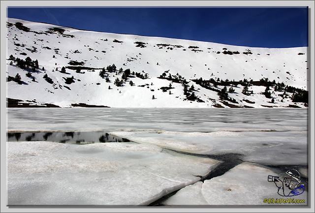 Lagunas de Neila (Burgos) heladas (7)