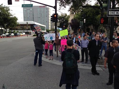 KXL protest, San Jose IMG_2481