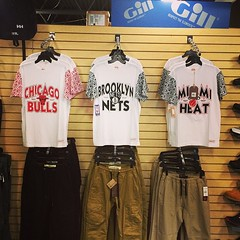 #firstthangsfirst #michell&ness #joggerpants #wto2 #heat #nets #bulls #igsneakercommunity #kicksfirst #kg1st
