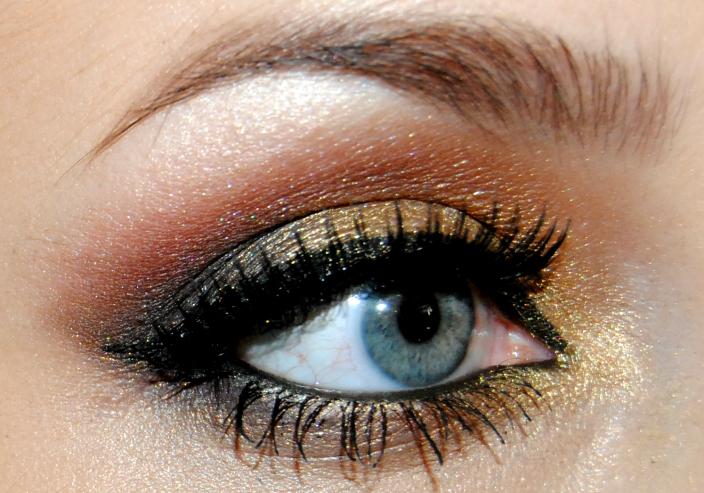 Gold Makeup (13)