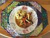 Sunday Roast yummy food, yummy mat!