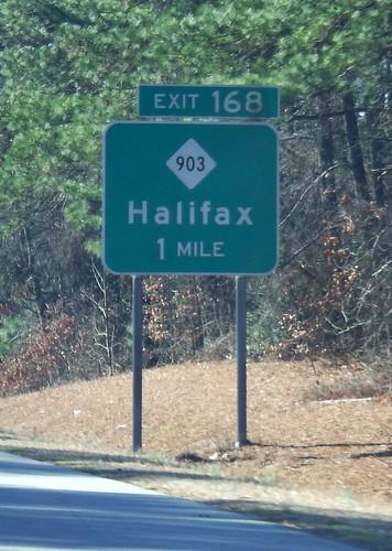 usa us nc unitedstates unitedstatesofamerica northcarolina roadsign roadsigns halifax i95 2015 halifaxcounty roadgeek biggreensign halifaxcountynorthcarolina halifaxcountync nc903 fujifilmfinepixxp200