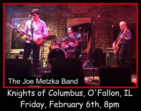 Joe Metzka Band 2-6-15