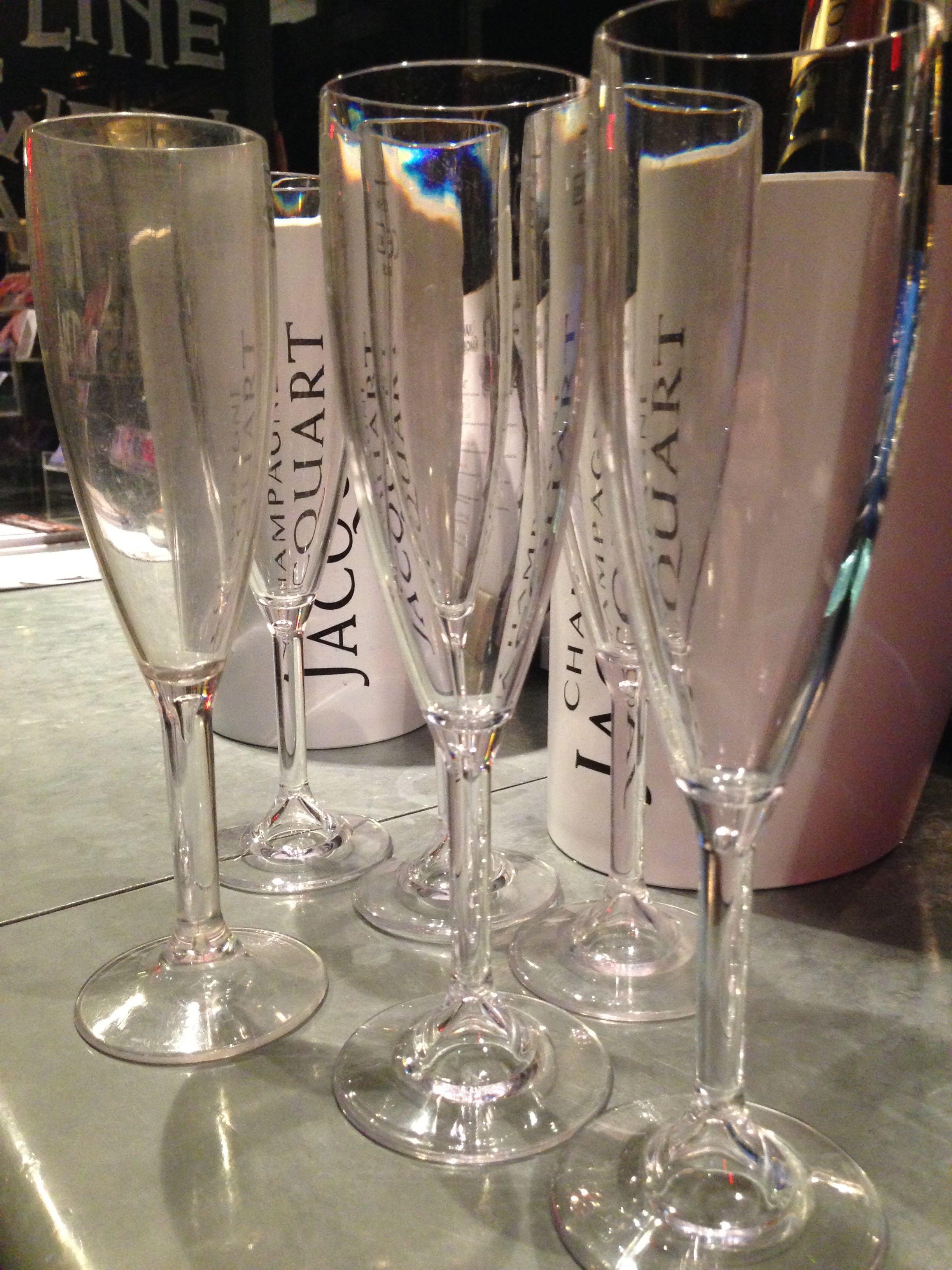 Jacquart Champagne glasses