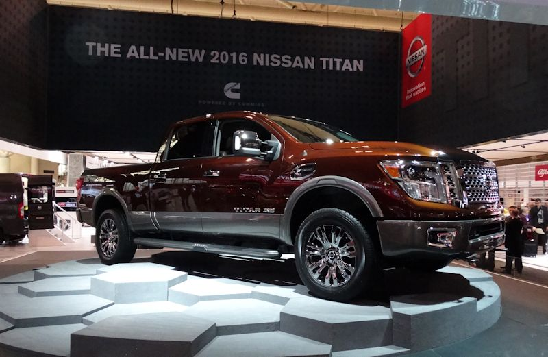 2016 Nissan Titan Diesel Pickup Truck