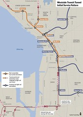 Westside Transit Tunnel (Initial Service Pattern)