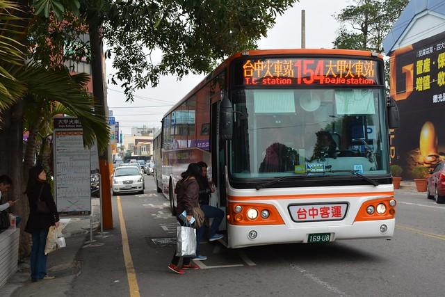 台中客運169-U8,154路市公車