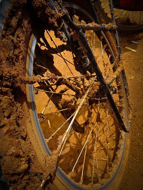 Mud attack
