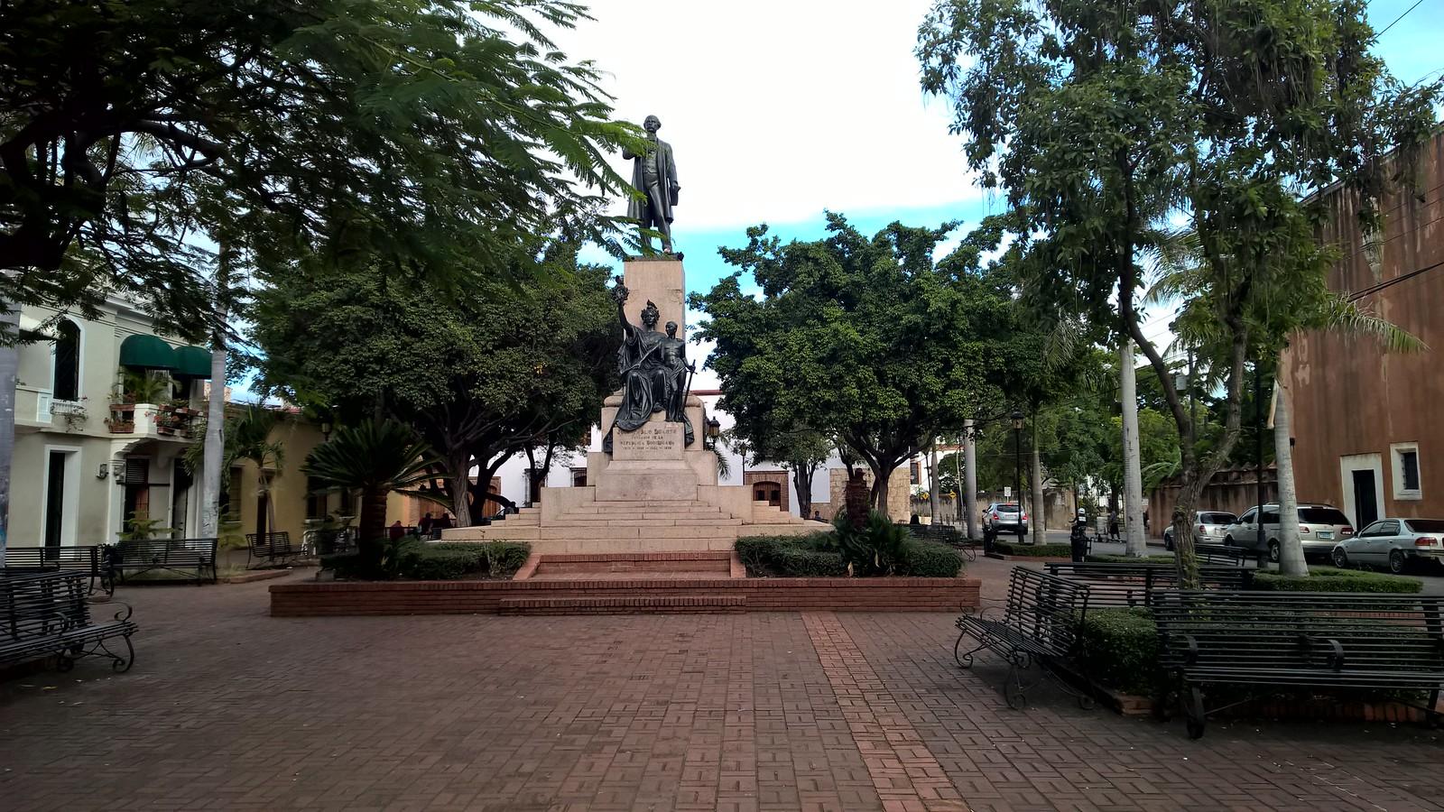 Памятник Пабло Дуарте