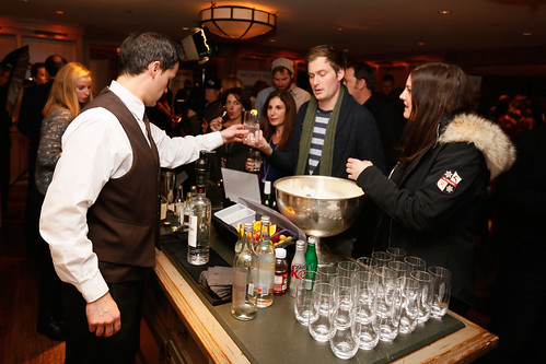 Z for Zachariah Reception in the RAND Luxury Lounge at the St. Regis during Sundance 2015