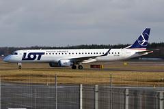 LOT, SP-LNE, Embraer ERJ-195LR