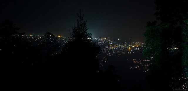 View of Darjeeling from Lamahatta