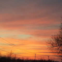 Captured this amazing sunset! #sunset #naturalbeauty