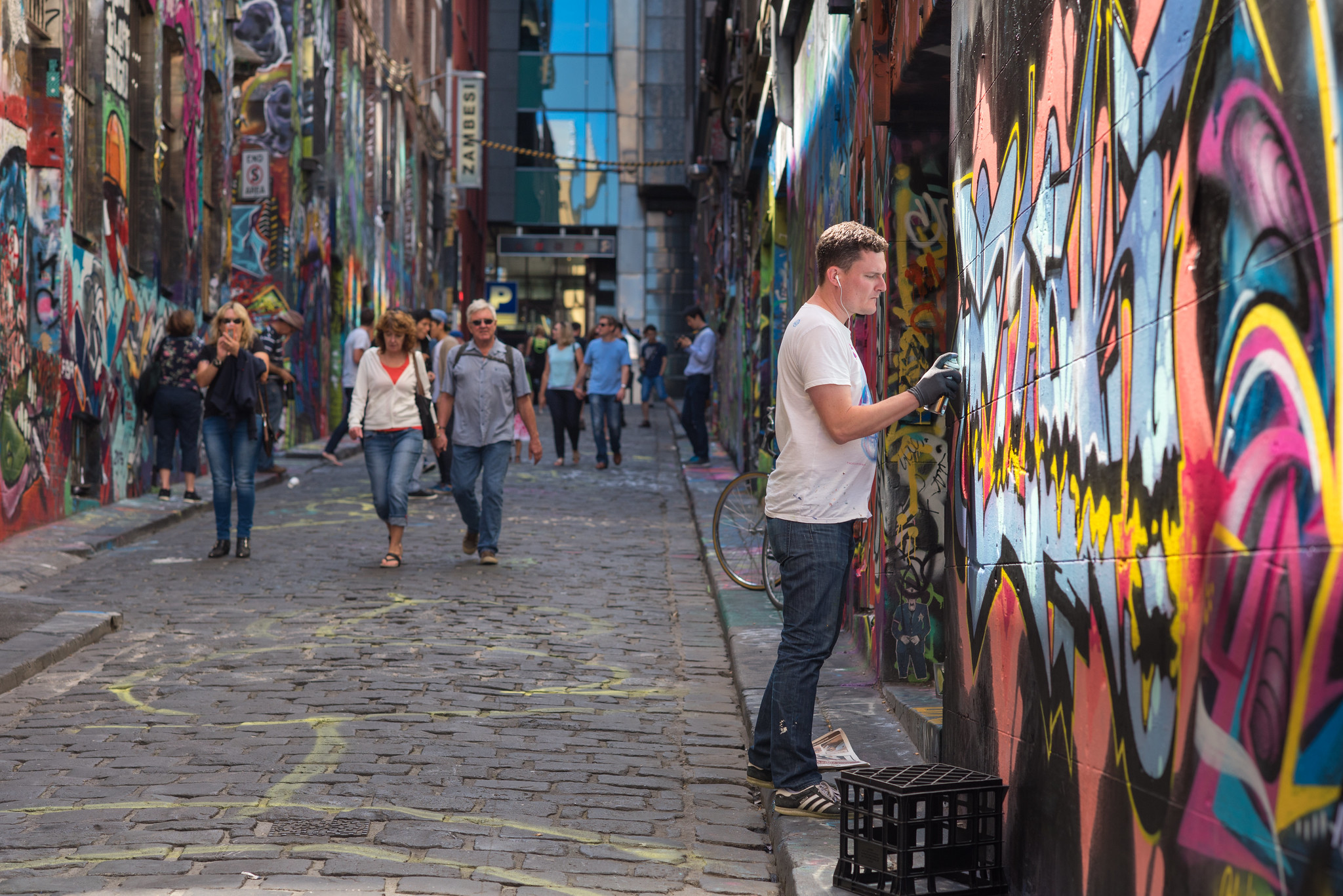 Melbourne Street Artist