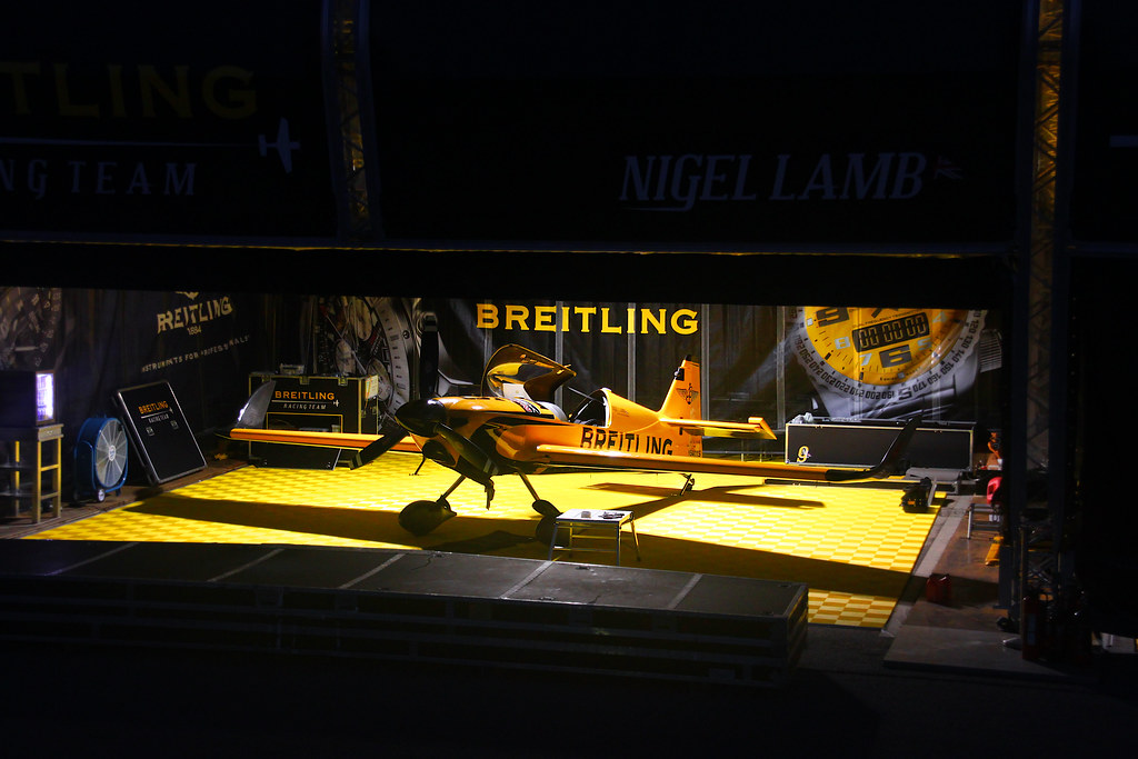Nigel Lamb - Breitling Racing Team