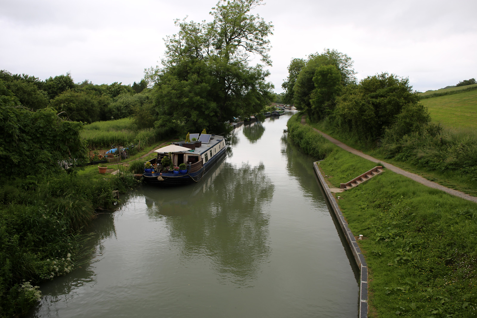 The Kennet & Avon Canal at Great Bedwyn