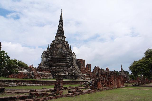 2007092011 - Ayutthaya(Wat Phra Si Sanphet)